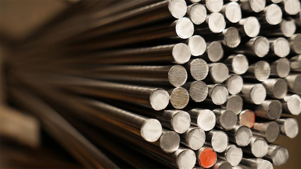Die Stahlstangen garantieren eine hohe Belastbarkeit