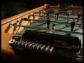 Tischfussballtisch Wettkampf Detailansicht