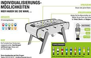 Exklusiver Tischfussball Tisch