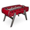 Tischfussball Tisch bordeaux rot