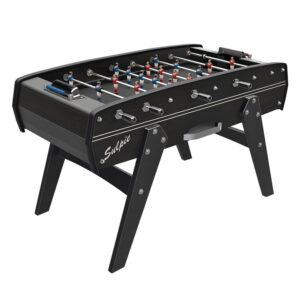 Tischfussball Evolution Jet Black